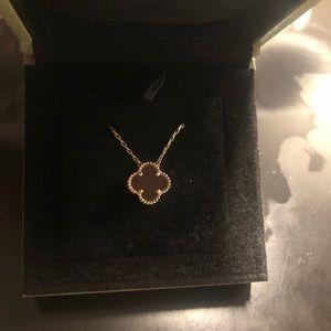 Van cleef arpels 18kgold Four-leaf clover necklace